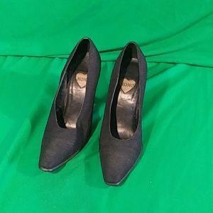 Xoxo sz 9.5 black heels